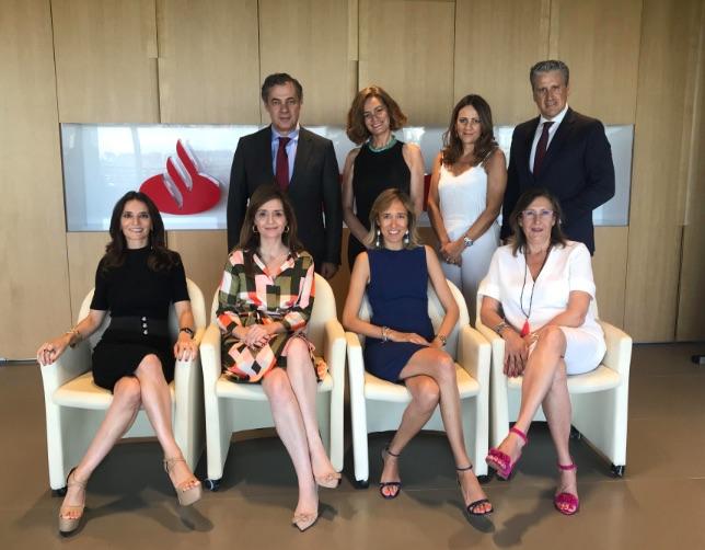 El apoyo del Santander: un paso más hacia el éxito de los I Premios WLW