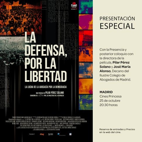 The defense, for Liberty. The theatrical release 25 October