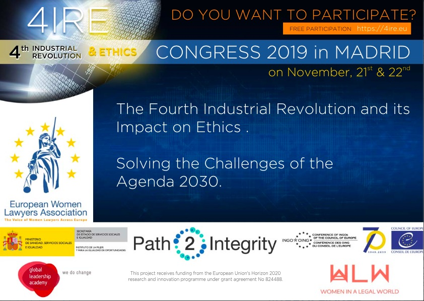 "I Congress ""The Fourth Industrial Revolution and Ethical Impacts – Solutions Agenda 2030 """