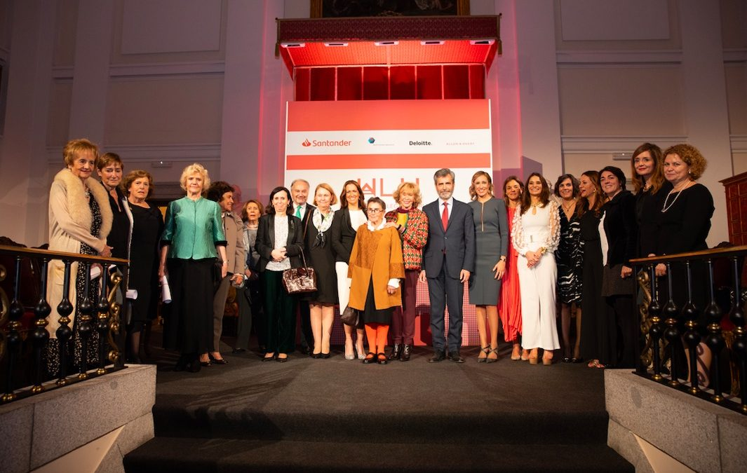 Emotional ceremony of the I Awards to Women in Legal World
